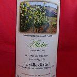 Vino Chardonnay la Valle di Ceri