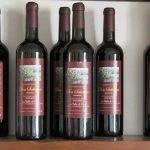 Vino rosso dell'azienda vitivinicola la Valle di Ceri di Cerveteri