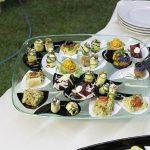 Finger food assortito per il ricevimento di matrimonio alla Valle di Ceri