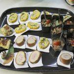 Finger food misto per il ricevimento di matrimonio alla Valle di Ceri