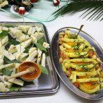 Formaggio, miele e ananas al matrimonio alla Valle di Ceri