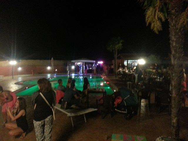 La Valle di Ceri apericena in piscina