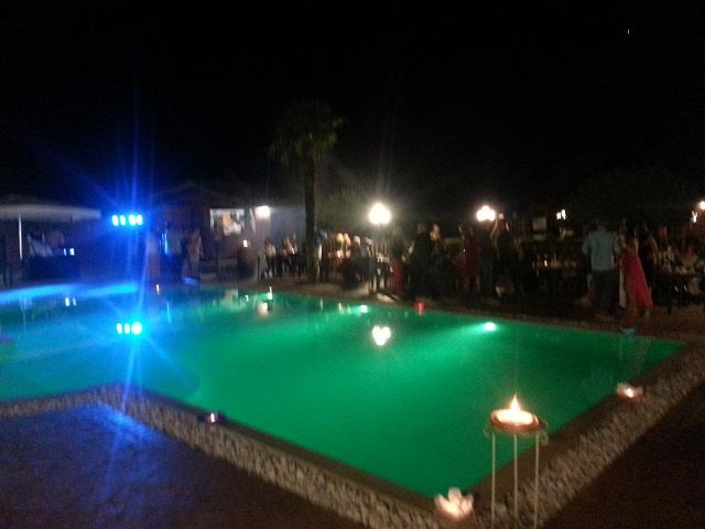 La Valle di Ceri compleanno in piscina