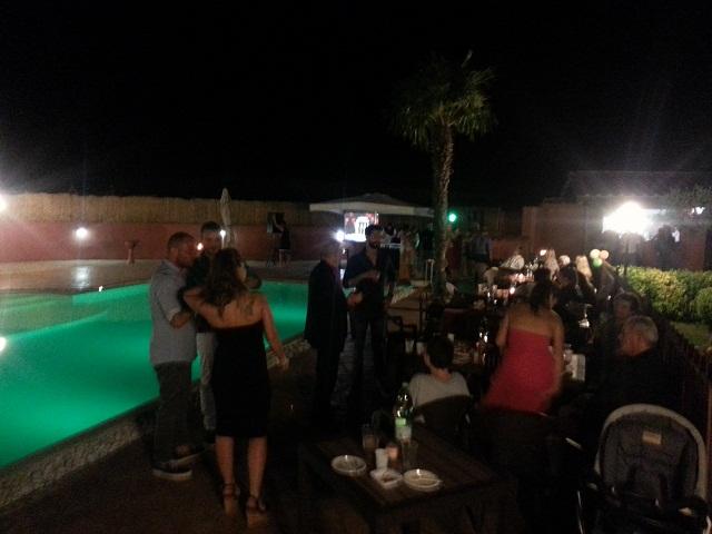La Valle di Ceri festa in piscina