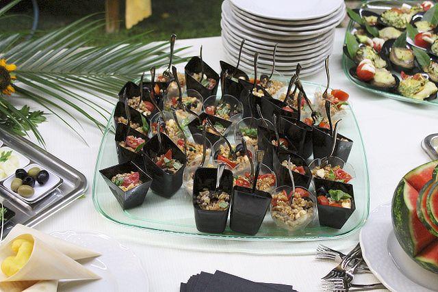 Finger food e cereali per matrimonio alla Valle di Ceri